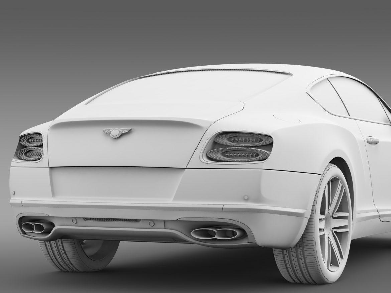 Bentley Continental gt v8 2015 3d modelis 3ds max fbx c4d lwo ma mb hrc xsi obj 211006