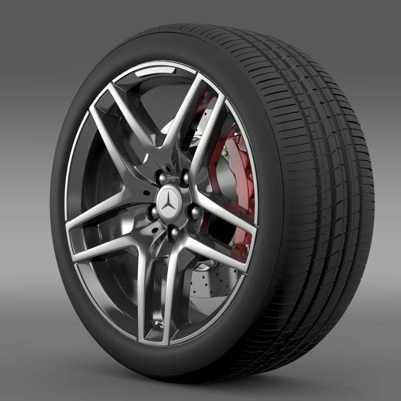amg mercedes benz s 500 wheel 3d model 3ds max fbx c4d lwo ma mb hrc xsi obj 211011