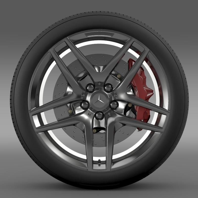 amg mercedes benz s 500 wheel 3d model 3ds max fbx c4d lwo ma mb hrc xsi obj 211012