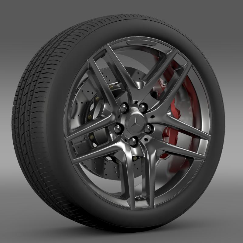 amg mercedes benz s 500 wheel 3d model 3ds max fbx c4d lwo ma mb hrc xsi obj 211013