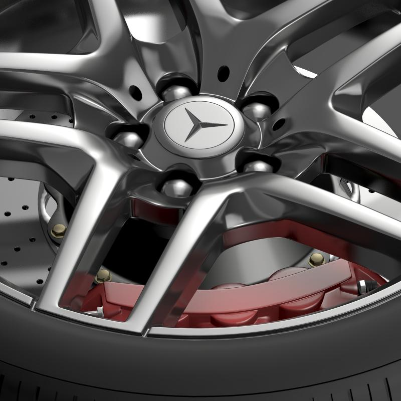 amg mercedes benz s 500 wheel 3d model 3ds max fbx c4d lwo ma mb hrc xsi obj 211014