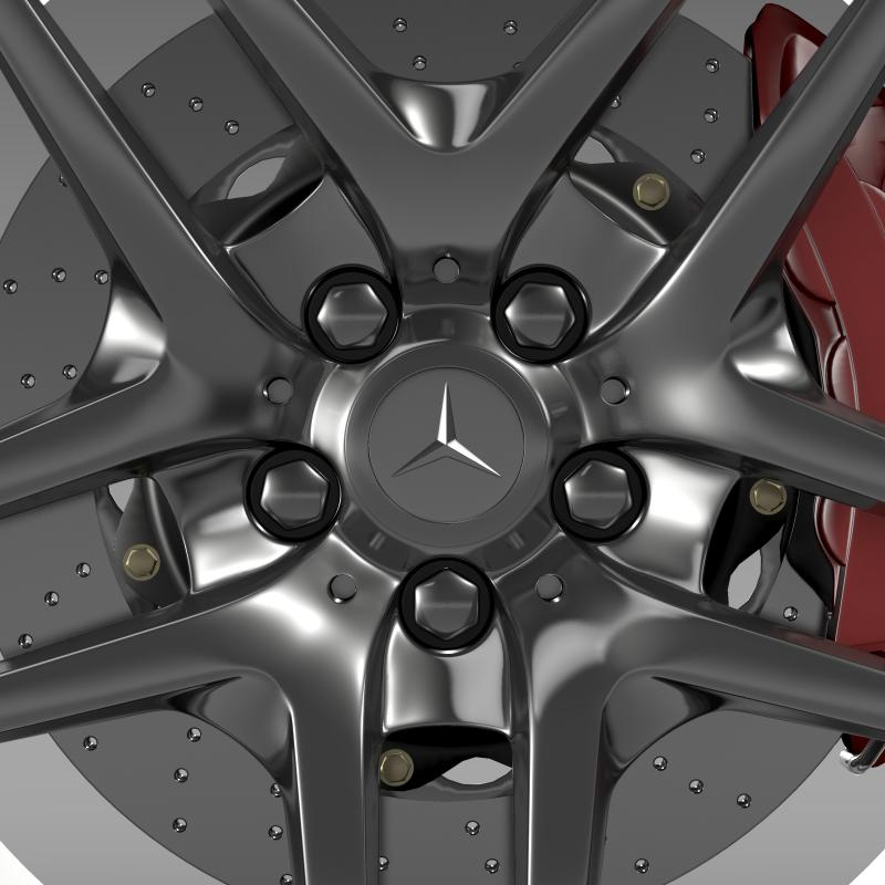 amg mercedes benz s 500 wheel 3d model 3ds max fbx c4d lwo ma mb hrc xsi obj 211015