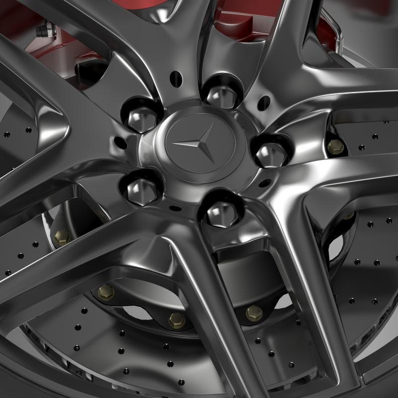 amg mercedes benz s 500 wheel 3d model 3ds max fbx c4d lwo ma mb hrc xsi obj 211016