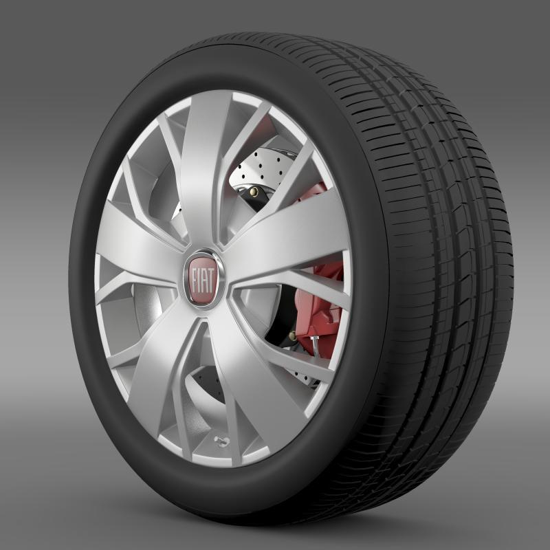 fiat ducato van l2h2 wheel 3d model 3ds max fbx c4d lwo ma mb hrc xsi obj 211021