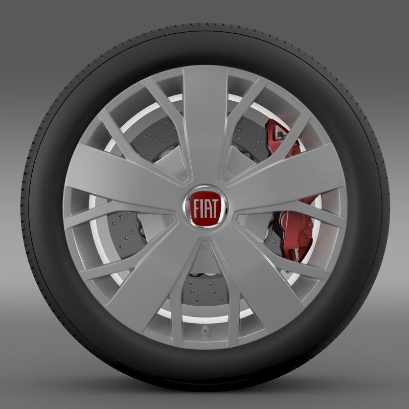 fiat ducato van l2h2 wheel 3d model 3ds max fbx c4d lwo ma mb hrc xsi obj 211022