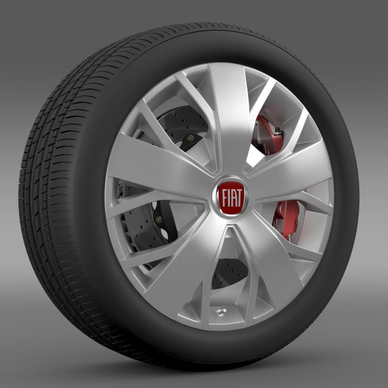 fiat ducato van l2h2 wheel 3d model 3ds max fbx c4d lwo ma mb hrc xsi obj 211023