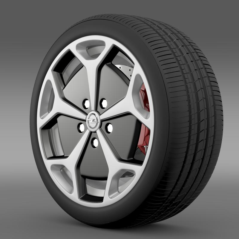 opel ampera wheel 3d model 3ds max fbx c4d lwo ma mb hrc xsi obj 211085