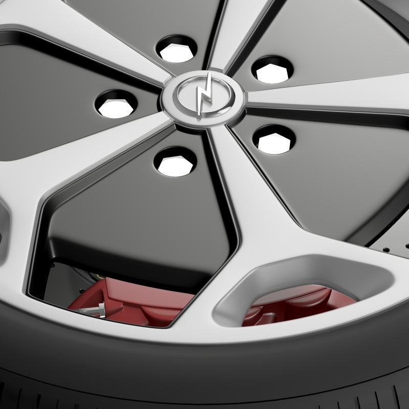 opel ampera wheel 3d model 3ds max fbx c4d lwo ma mb hrc xsi obj 211088