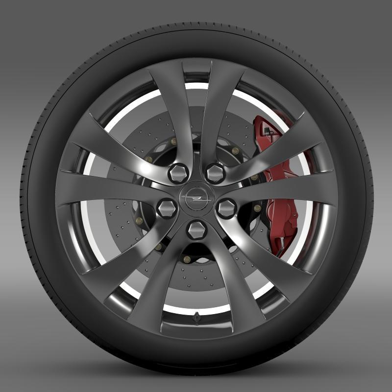 opel insignia wheel 3d model 3ds max fbx c4d lwo ma mb hrc xsi obj 211102