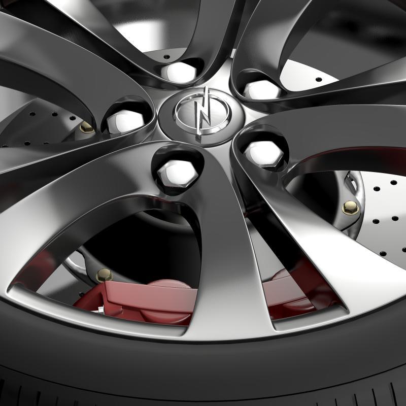 opel insignia wheel 3d model 3ds max fbx c4d lwo ma mb hrc xsi obj 211104