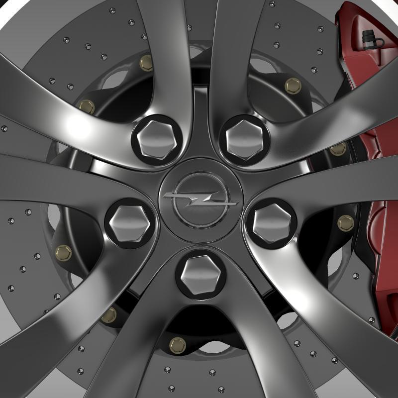 opel insignia wheel 3d model 3ds max fbx c4d lwo ma mb hrc xsi obj 211105