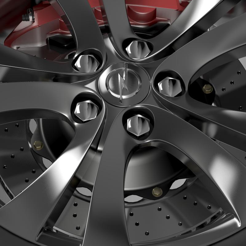 opel insignia wheel 3d model 3ds max fbx c4d lwo ma mb hrc xsi obj 211106