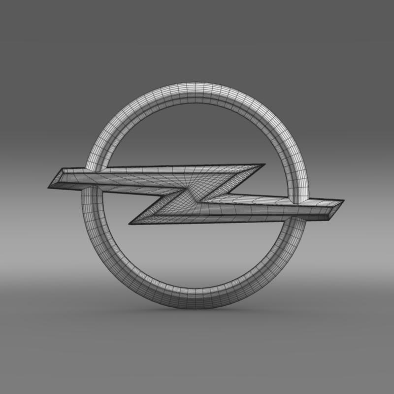 opel insignia wheel 3d model 3ds max fbx c4d lwo ma mb hrc xsi obj 211115