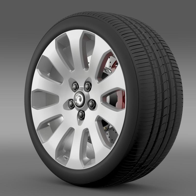 vauxhall insignia wheel 3d model 3ds max fbx c4d lwo ma mb hrc xsi obj 211117