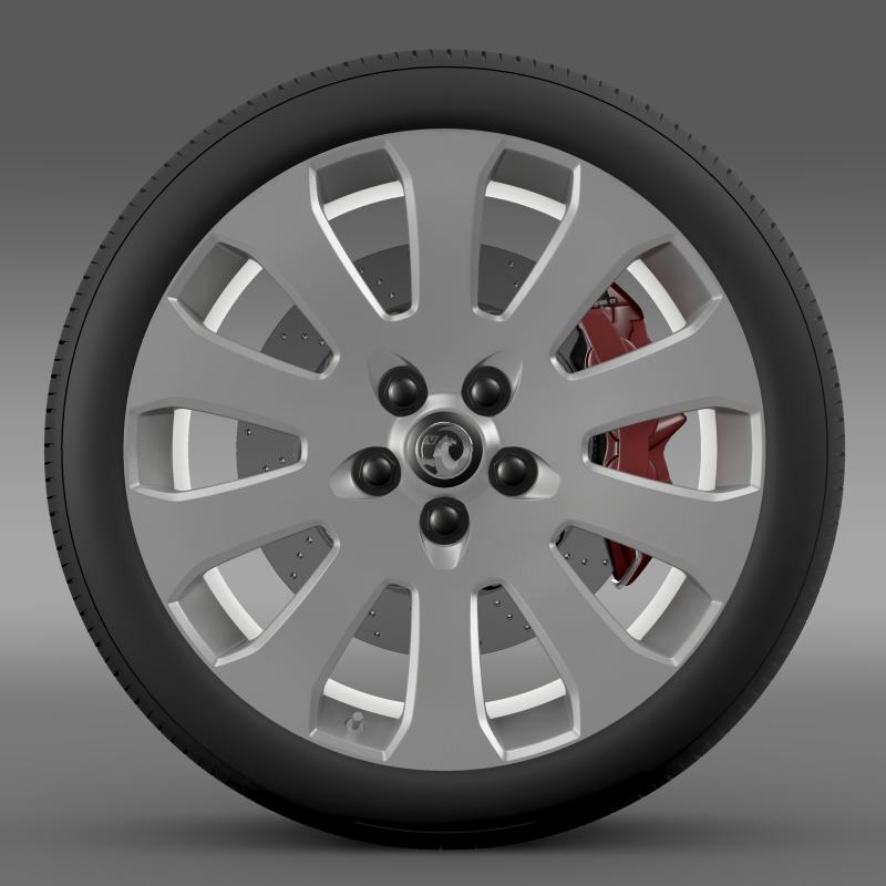 vauxhall insignia wheel 3d model 3ds max fbx c4d lwo ma mb hrc xsi obj 211118