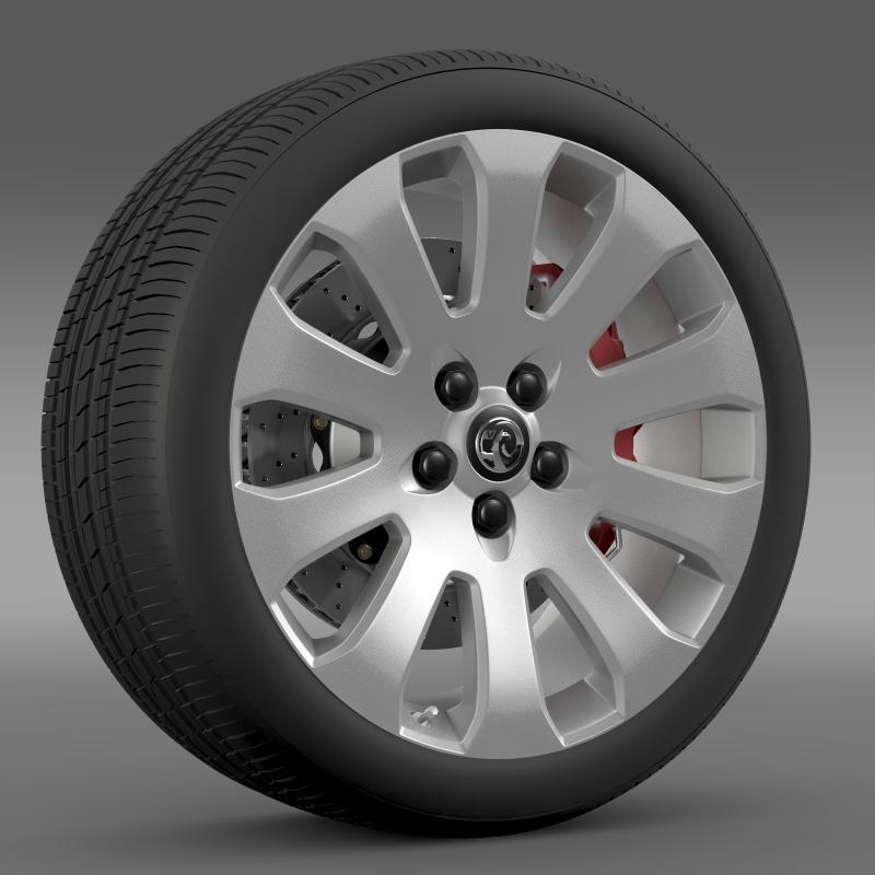 vauxhall insignia wheel 3d model 3ds max fbx c4d lwo ma mb hrc xsi obj 211119