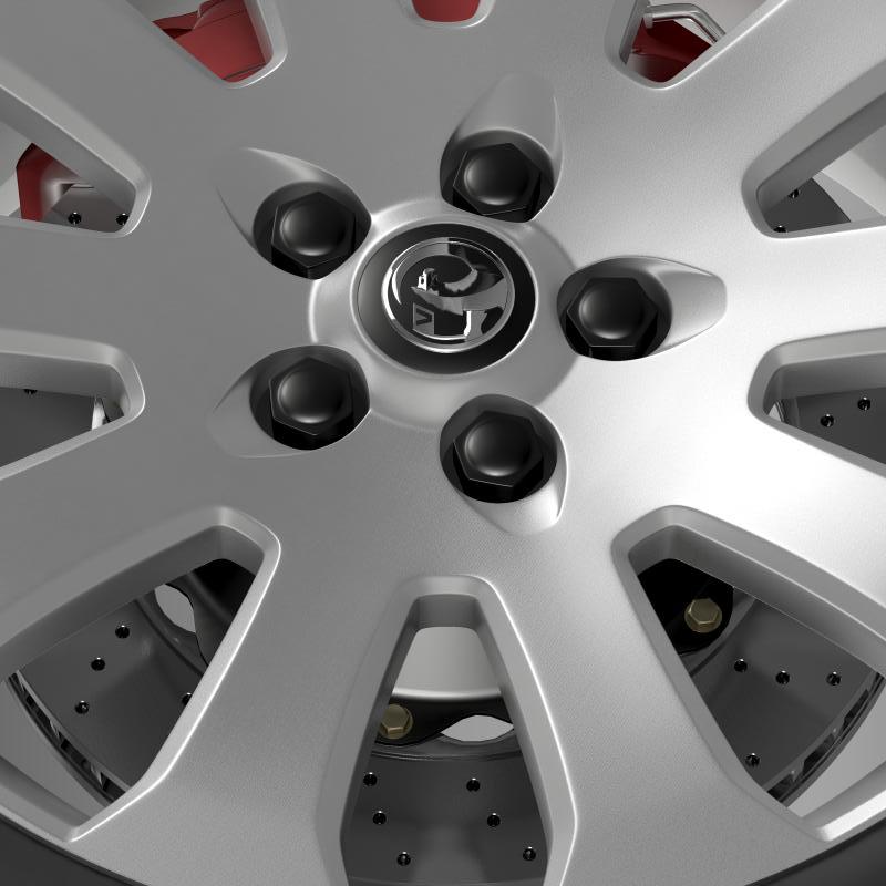 vauxhall insignia wheel 3d model 3ds max fbx c4d lwo ma mb hrc xsi obj 211122