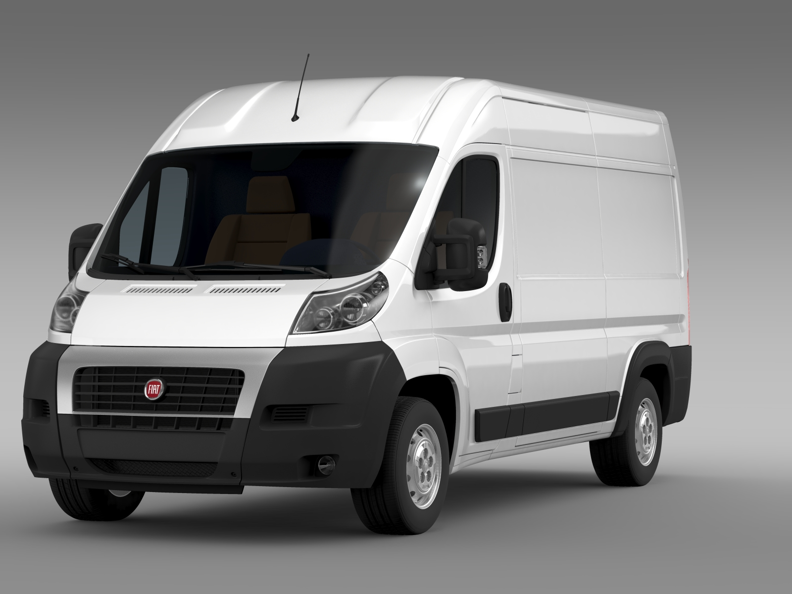 fiat ducato van l2h2 2006 2014 3d model buy fiat ducato van l2h2 2006 2014 3d model flatpyramid. Black Bedroom Furniture Sets. Home Design Ideas