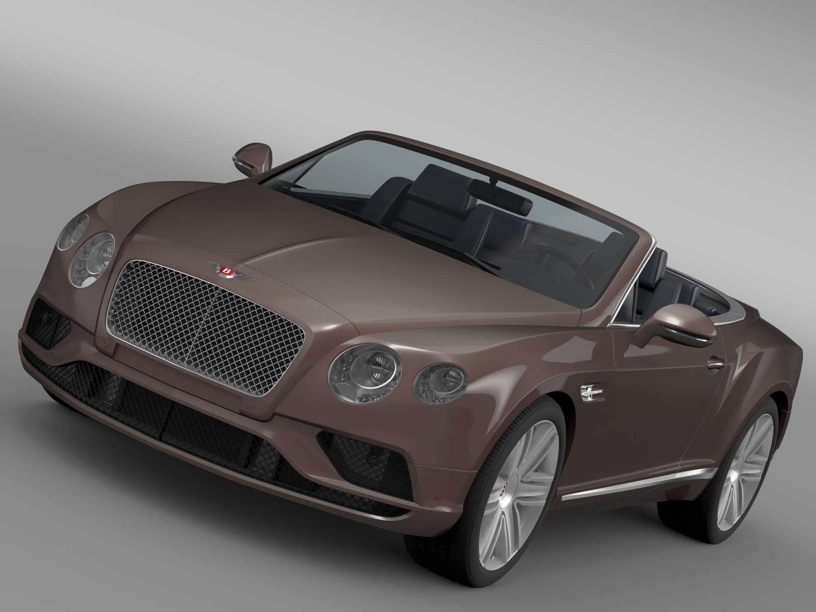 bentley continental gt v8 convertible 2015 3d model 3ds max fbx c4d lwo ma mb hrc xsi obj 211182