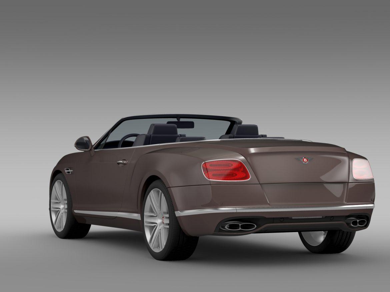 bentley continental gt v8 convertible 2015 3d model 3ds max fbx c4d lwo ma mb hrc xsi obj 211189