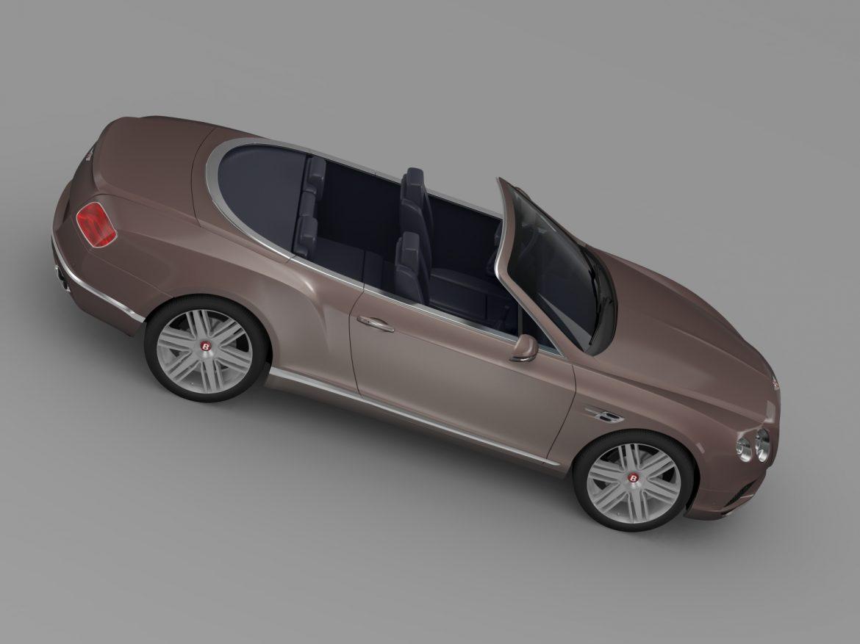 bentley continental gt v8 convertible 2015 3d model 3ds max fbx c4d lwo ma mb hrc xsi obj 211192