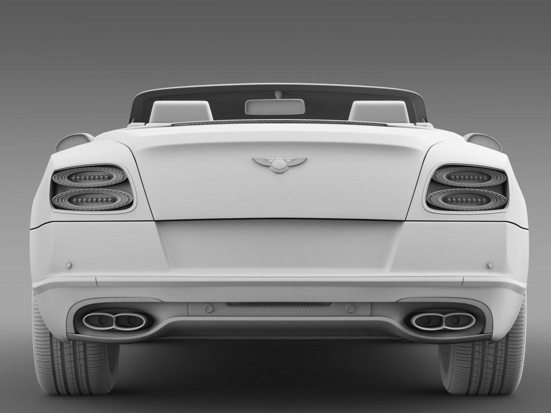 bentley continental gt v8 convertible 2015 3d model 3ds max fbx c4d lwo ma mb hrc xsi obj 211195