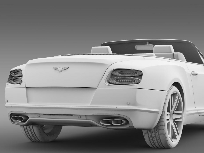 bentley continental gt v8 convertible 2015 3d model 3ds max fbx c4d lwo ma mb hrc xsi obj 211197