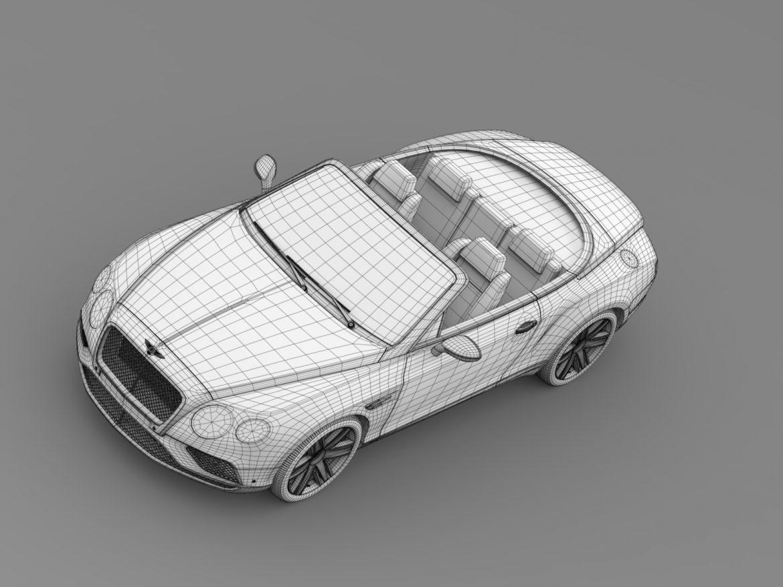 bentley continental gt v8 convertible 2015 3d model 3ds max fbx c4d lwo ma mb hrc xsi obj 211198