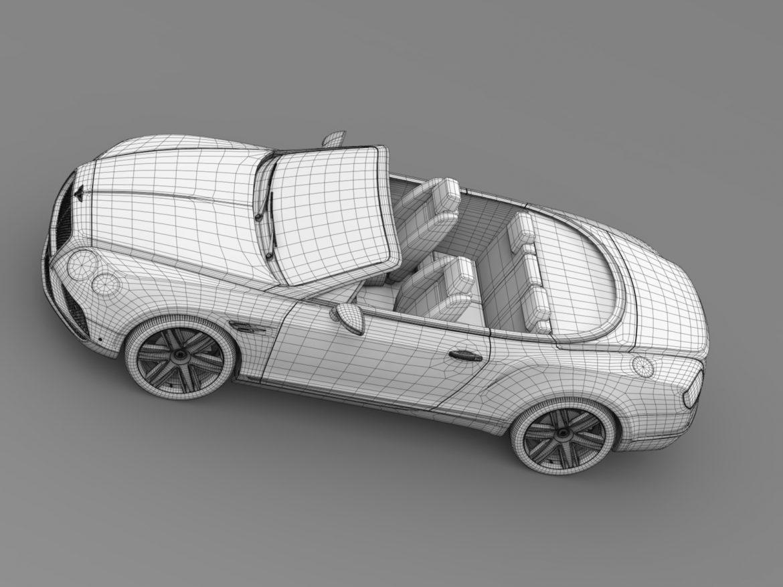 bentley continental gt v8 convertible 2015 3d model 3ds max fbx c4d lwo ma mb hrc xsi obj 211199