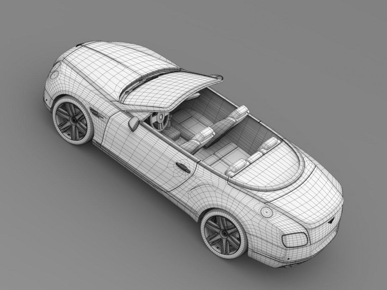 bentley continental gt v8 convertible 2015 3d model 3ds max fbx c4d lwo ma mb hrc xsi obj 211200