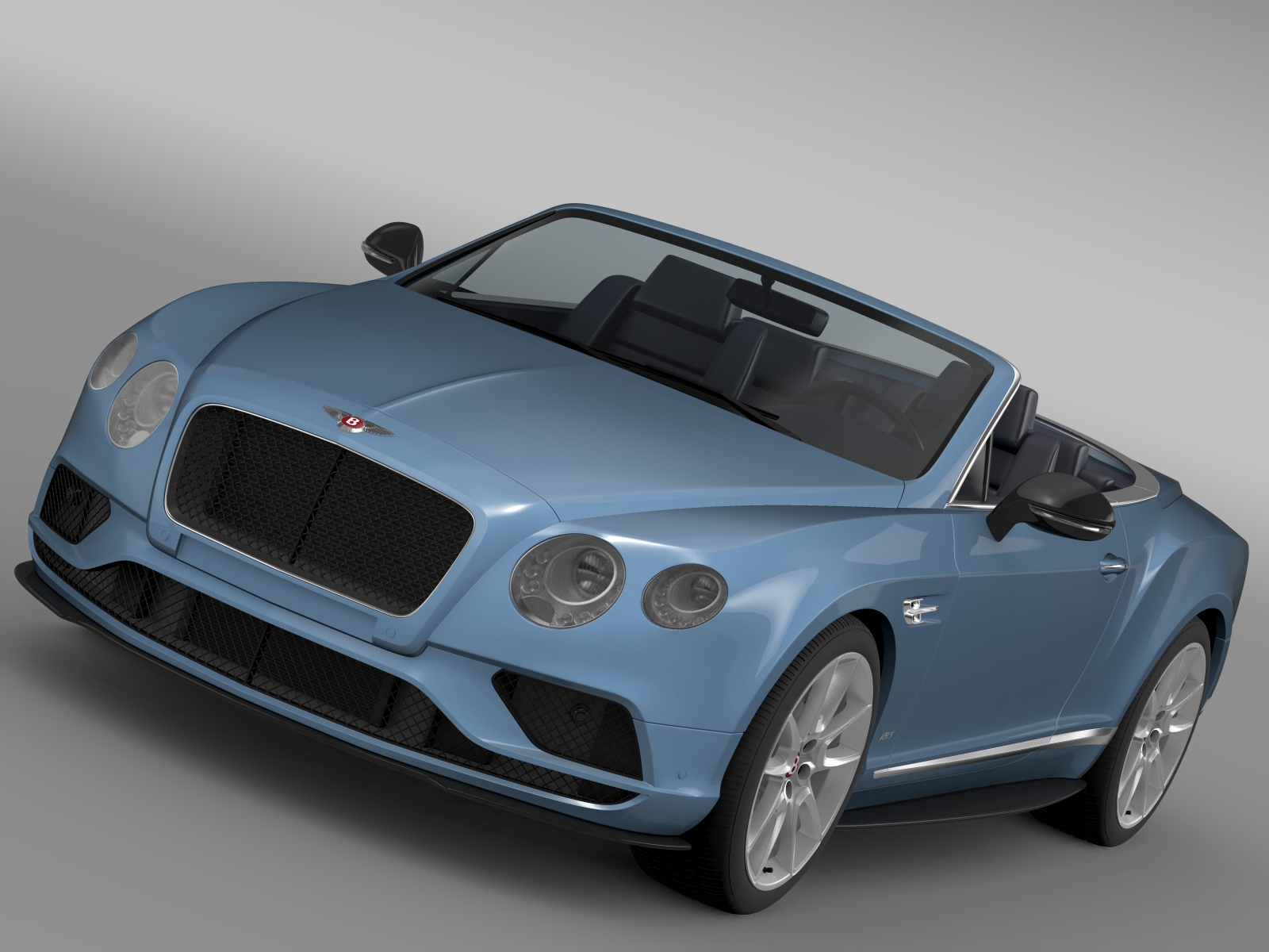 bentley continental gt v8 s convertible 2015 3d model 3ds max fbx c4d lwo ma mb hrc xsi obj 211210