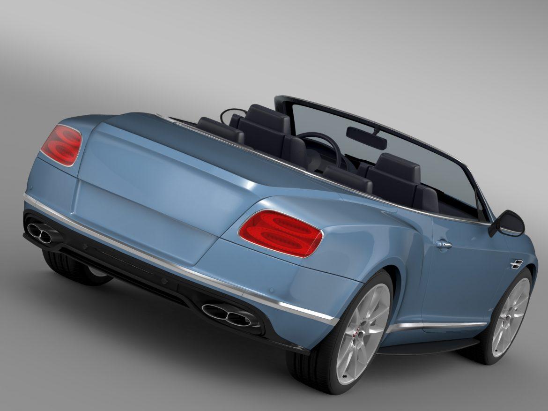 bentley continental gt v8 s convertible 2015 3d model 3ds max fbx c4d lwo ma mb hrc xsi obj 211211