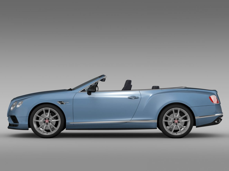 bentley continental gt v8 s convertible 2015 3d model 3ds max fbx c4d lwo ma mb hrc xsi obj 211215