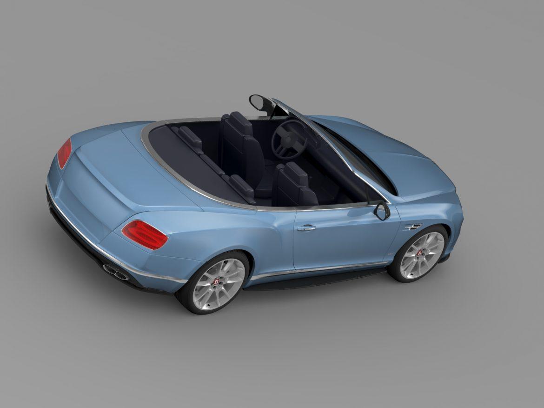 bentley continental gt v8 s convertible 2015 3d model 3ds max fbx c4d lwo ma mb hrc xsi obj 211219
