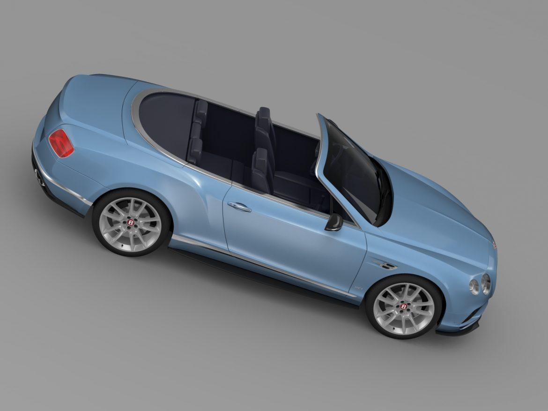 bentley continental gt v8 s convertible 2015 3d model 3ds max fbx c4d lwo ma mb hrc xsi obj 211220