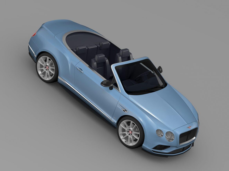 bentley continental gt v8 s convertible 2015 3d model 3ds max fbx c4d lwo ma mb hrc xsi obj 211221