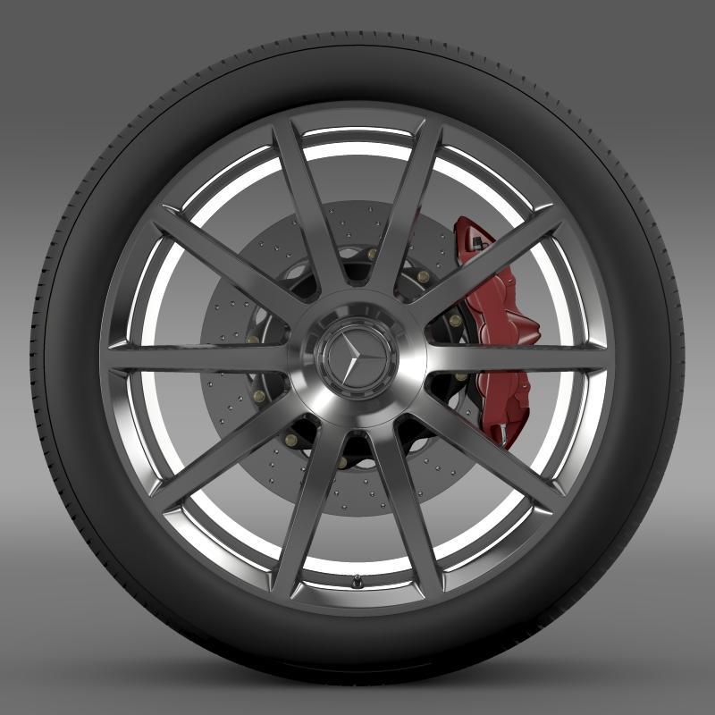 amg mercedes benz s 63 wheel 3d model 3ds max fbx c4d lwo ma mb hrc xsi obj 211231