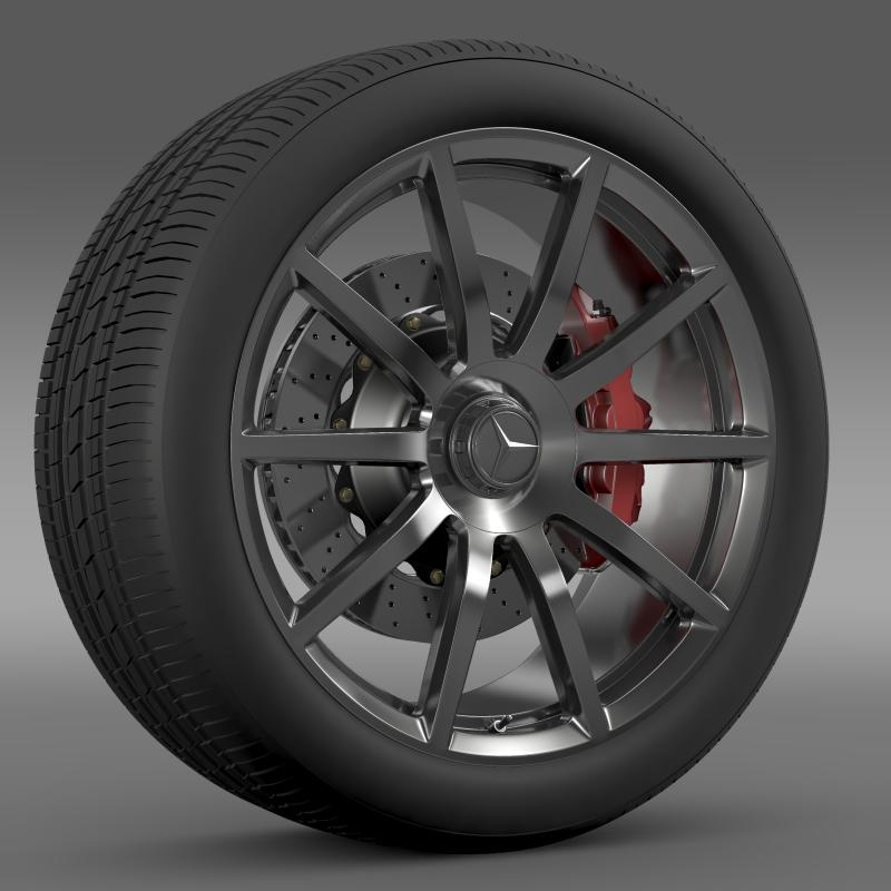 amg mercedes benz s 63 wheel 3d model 3ds max fbx c4d lwo ma mb hrc xsi obj 211232