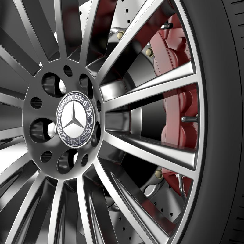 amg mercedes benz s 350 wheel 3d model 3ds fbx c4d lwo ma mb hrc xsi obj 211249