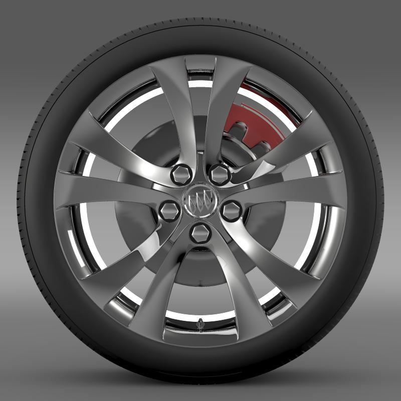 buick regal wheel 3d model 3ds max fbx c4d lwo ma mb hrc xsi obj 211263