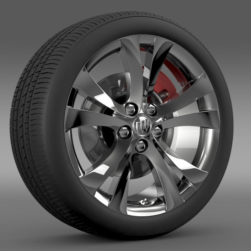 buick regal wheel 3d model 3ds max fbx c4d lwo ma mb hrc xsi obj 211264