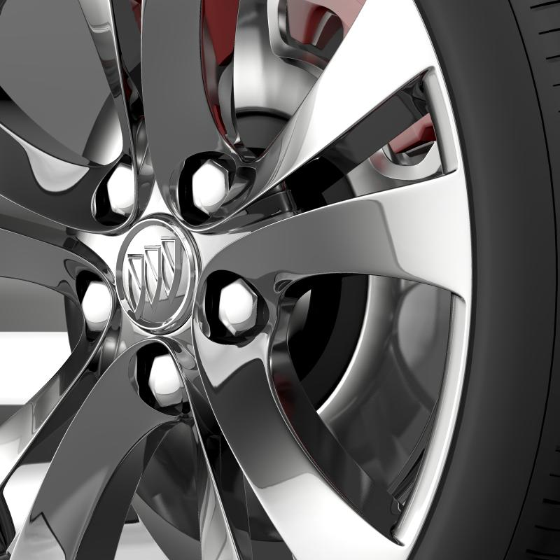 buick regal wheel 3d model 3ds max fbx c4d lwo ma mb hrc xsi obj 211265