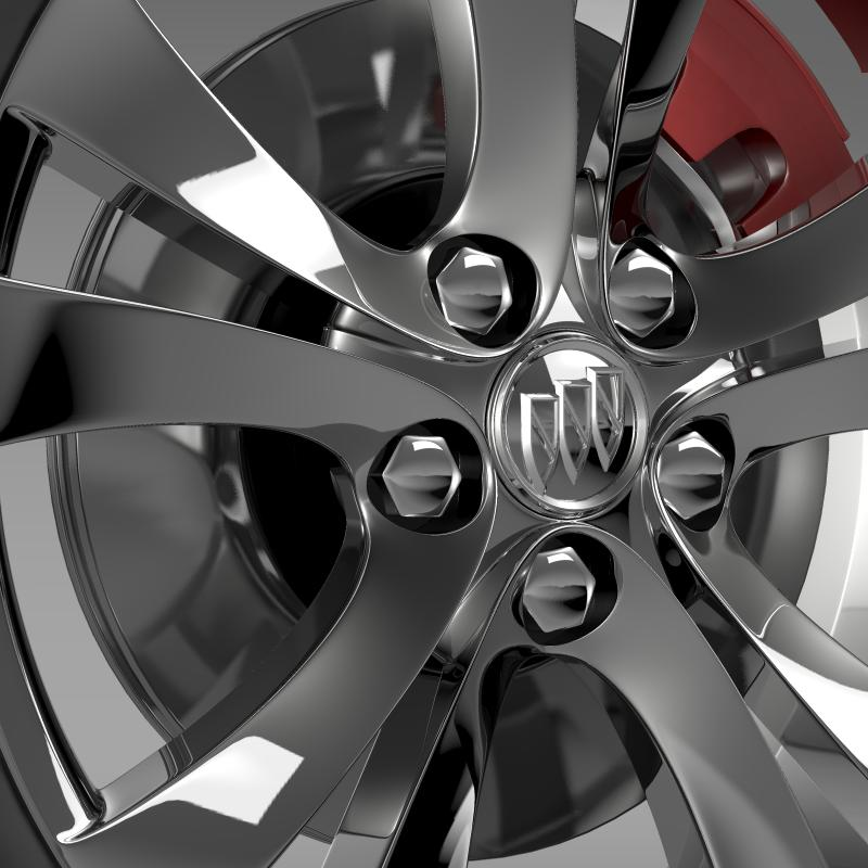 buick regal wheel 3d model 3ds max fbx c4d lwo ma mb hrc xsi obj 211267