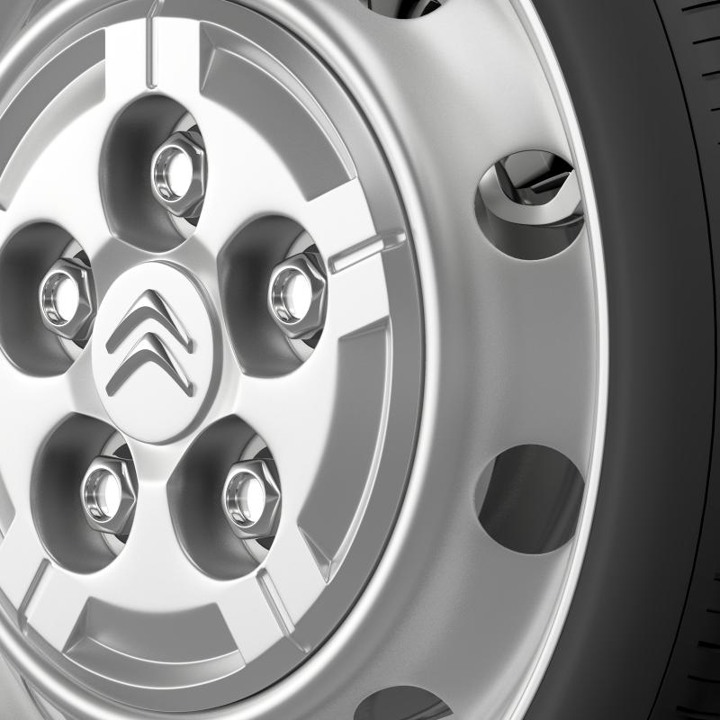 citroen jumper van wheel 3d model 3ds max fbx c4d lwo ma mb hrc xsi obj 211280