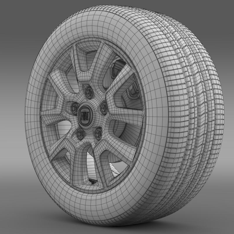 fiat ducato panorama wheel 3d загвар 3ds max fbx c4d lwo ma mb hrc xsi obj 211298