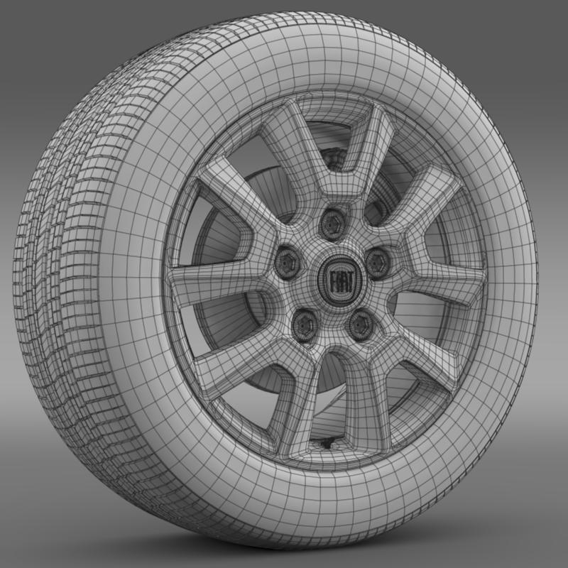 fiat ducato panorama wheel 3d загвар 3ds max fbx c4d lwo ma mb hrc xsi obj 211300