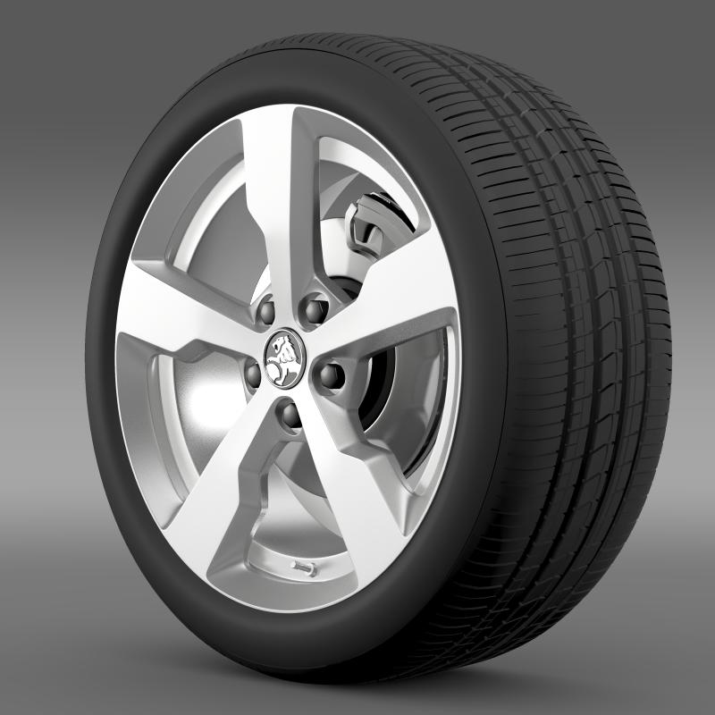holden volt wheel 3d model 3ds max fbx c4d lwo ma mb hrc xsi obj 211307