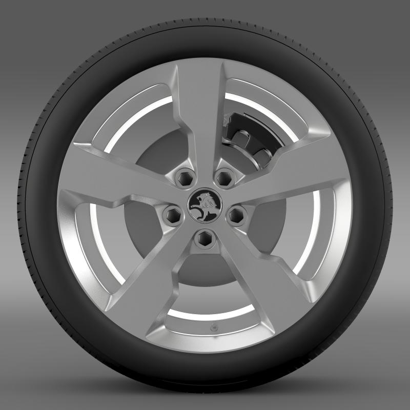 holden volt wheel 3d model 3ds max fbx c4d lwo ma mb hrc xsi obj 211308