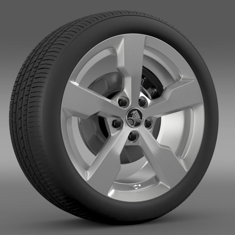 holden volt wheel 3d model 3ds max fbx c4d lwo ma mb hrc xsi obj 211309