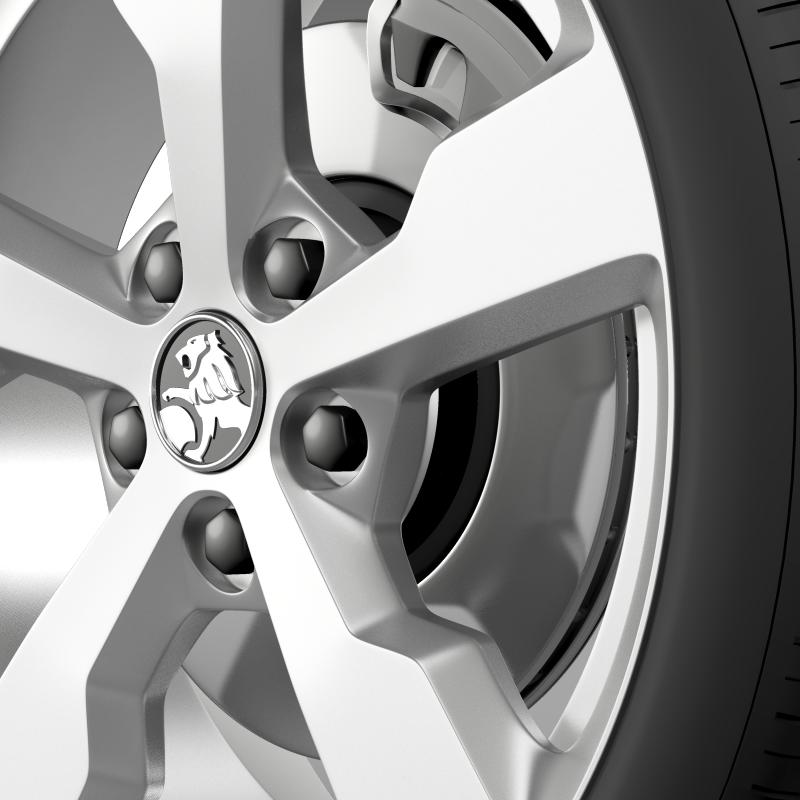 holden volt wheel 3d model 3ds max fbx c4d lwo ma mb hrc xsi obj 211310